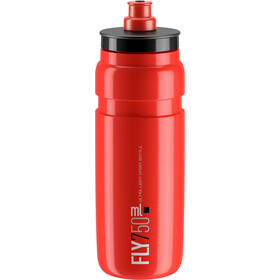 Elite Fly Bidon 750ml, red/black logo